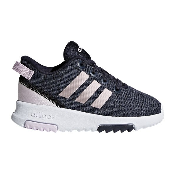 adidas Racer TR Infant Girls' Trainer, Navy