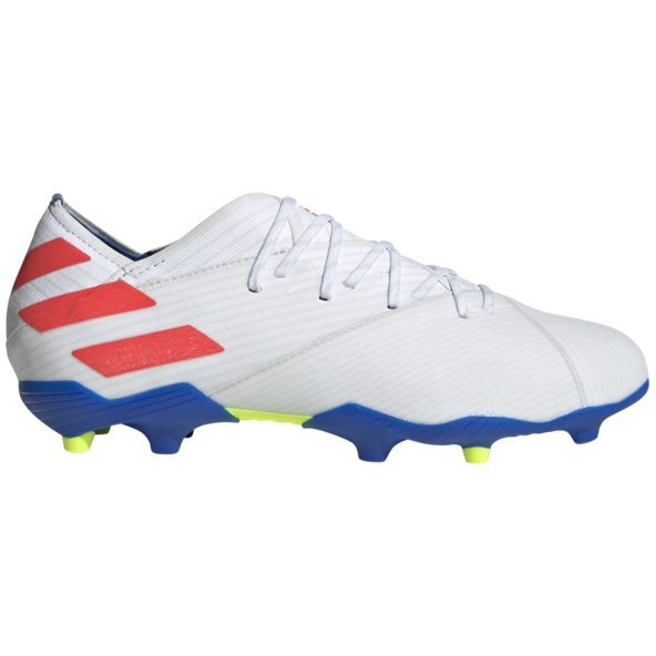 adidas NEMEZIZ Messi 19.1 Kids' FG Football Boot, White