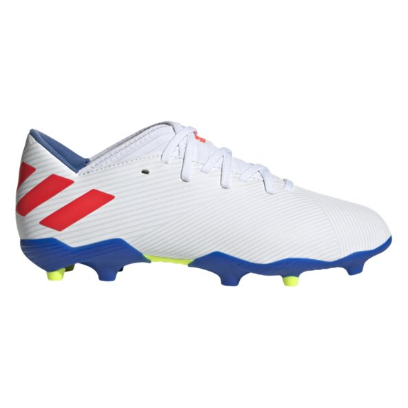 adidas Nemeziz Messi 19.3 Kids' FG Football Boot, White