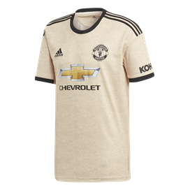 adidas Man United 2019/20 Away Jersey, Biege