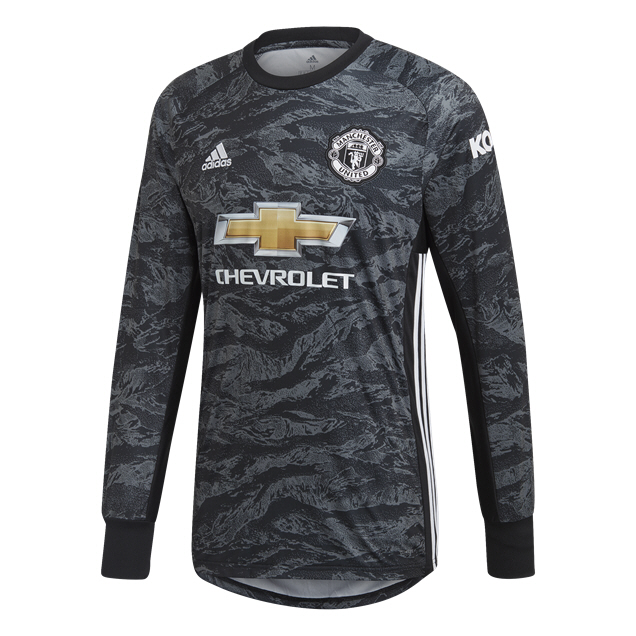 adidas Man United 2019/20 Away GK Jersey, Black