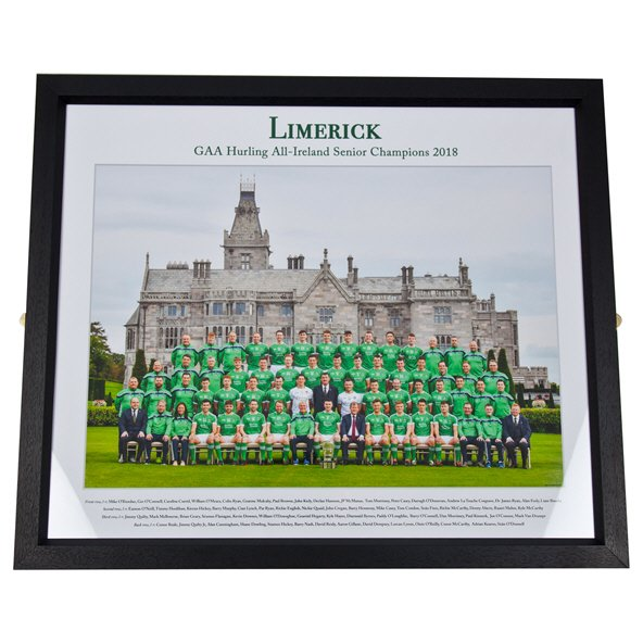 Team Photo Framed