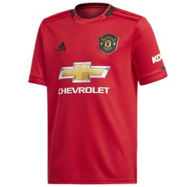 adidas Man Utd 2019/20 Kids' Home Jersey, Red