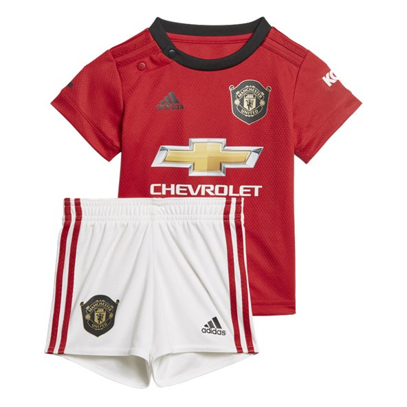 f60bf3b957f adidas Man Utd 2019 20 Baby Home Kit