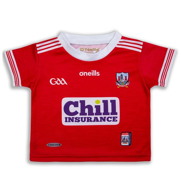 O'Neills Cork 2019 Junior Home Jersey, Red