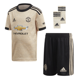 adidas Man United 2019/20 Kids' Away Kit, Biege