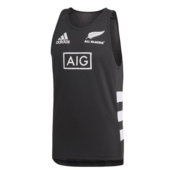 adidas All Blacks 2019 Singlet, Black