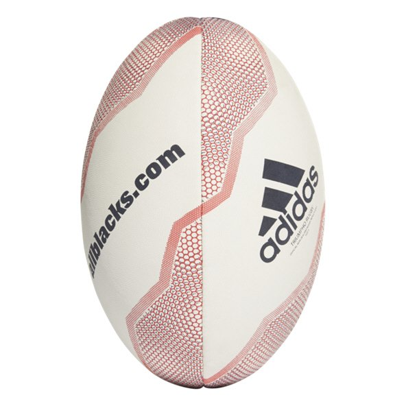adidas New Zealand Rugby Ball White/Blac