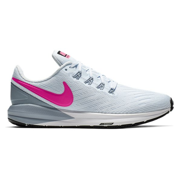 Nike Air Zoom Structure 22 Women's Running Shoe Blue/Pink