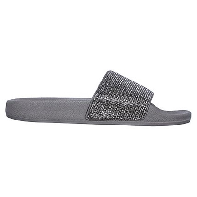 Skechers Pop Up Women's Slide Sandal Grey