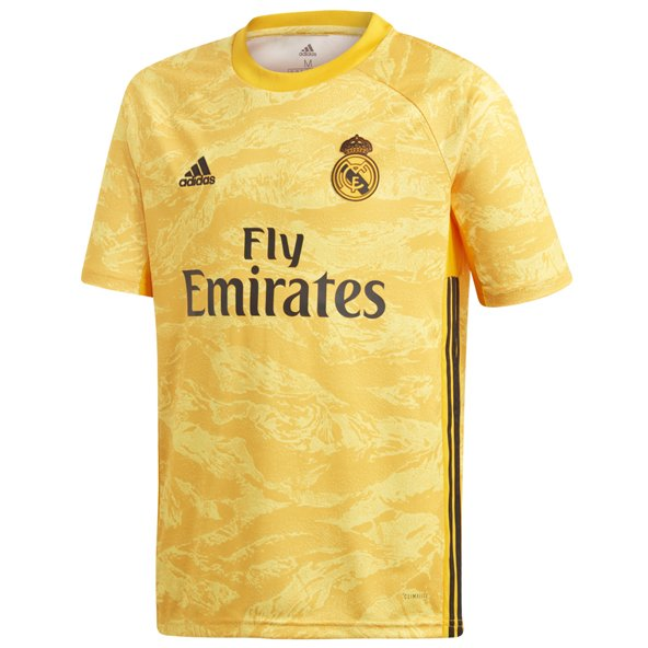 adidas Real Madrid 2019/20 Kids' GK Jersey, Gold