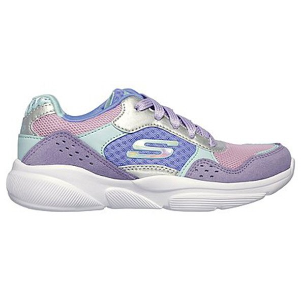 Skechers Meridian Charted Girls' Trainer, Purple