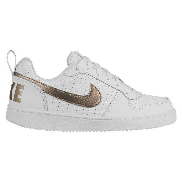 Nike Court Borough Low EP Girls' Trainer, White