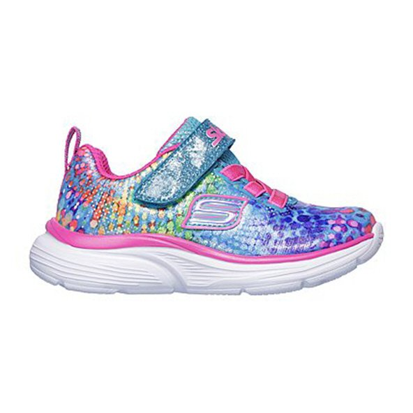 Skechers Wavy Light Infant Girls' Shoes Pink