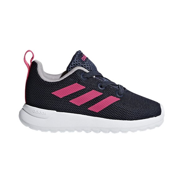 adidas Lite Racer Infant Girls' Trainer, Blue
