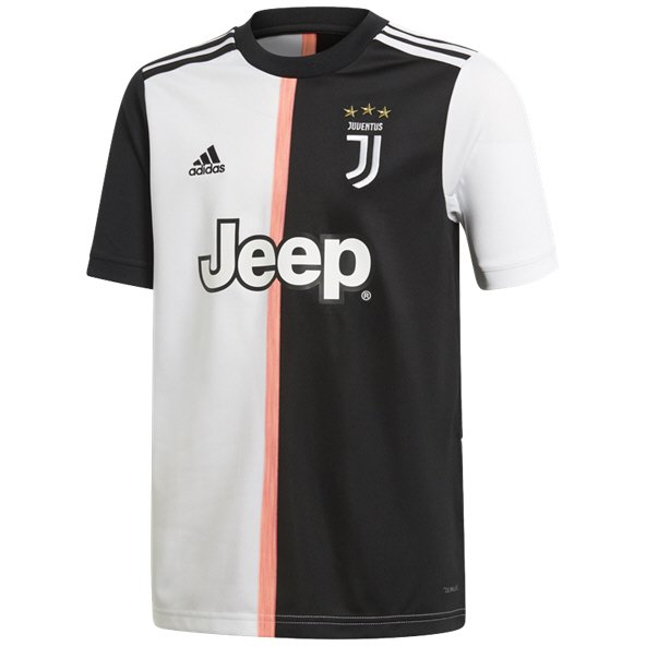 adidas Juventus 2019/20 Kids' Home Jersey, Black