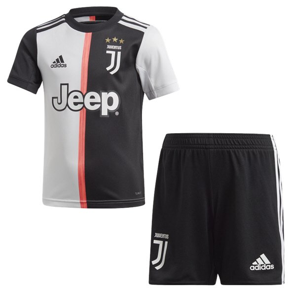 adidas Juventus 2019/20 Kids' Mini Kit, Black