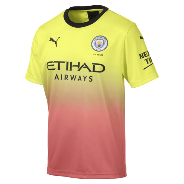 Puma Manchester City 2019/20 3rd Jersey, Yellow