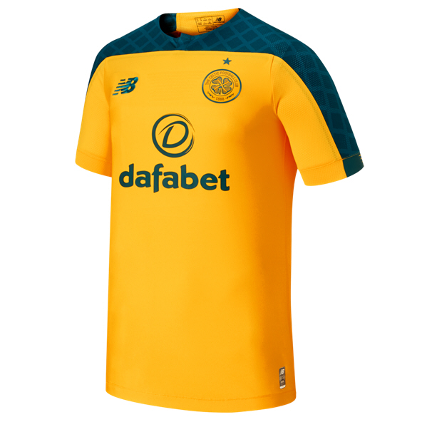 New Balance Celtic 2018/19 Away Jersey, Yellow