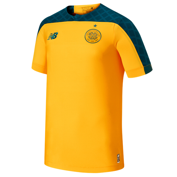 New Balance Celtic 2018/19 Kids' Away Jersey, Yellow