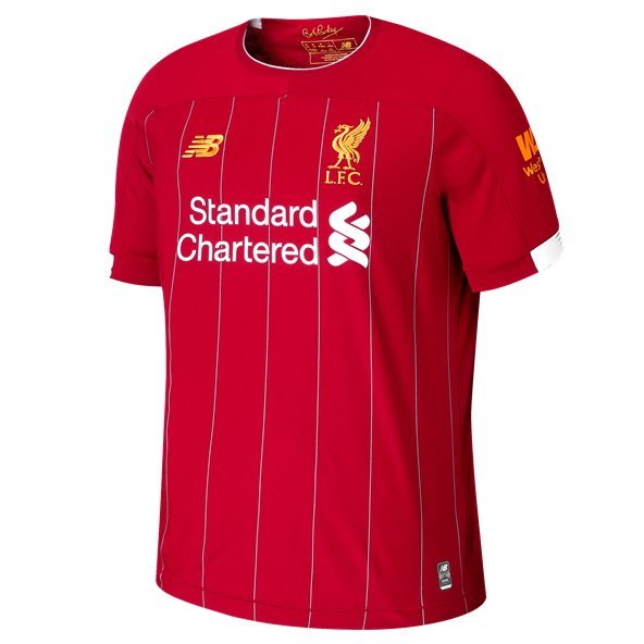 New Balance Liverpool 2019/20 Home Jersey, Red