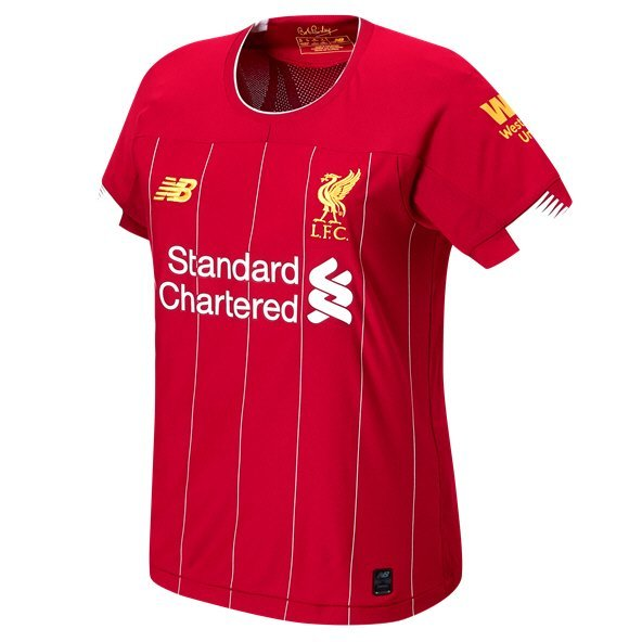 f520509b4 New Balance Liverpool 2019 20 Women s Home Jersey