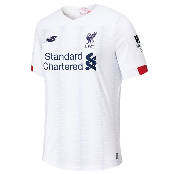 New Balance Liverpool 2019/20 Away Jersey, White