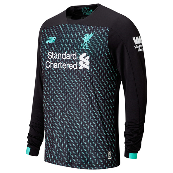 New Balance Liverpool 2019/20 3rd LS Jersey, Grey