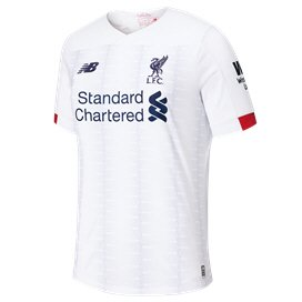 New Balance Liverpool 2019/20 Kids' Away Jersey, White