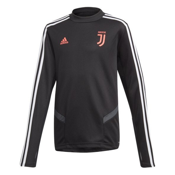 adidas Juventus 2019/20 Kids' Training Top, Black