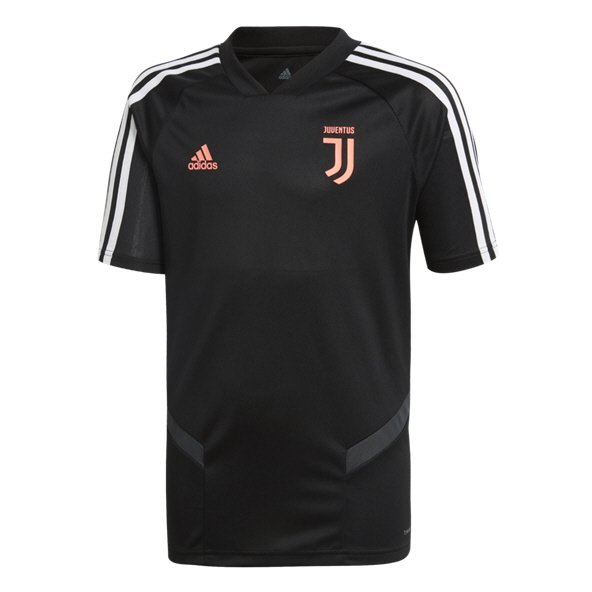 adidas Juventus 2019/20 Kids' Training Jersey, Black