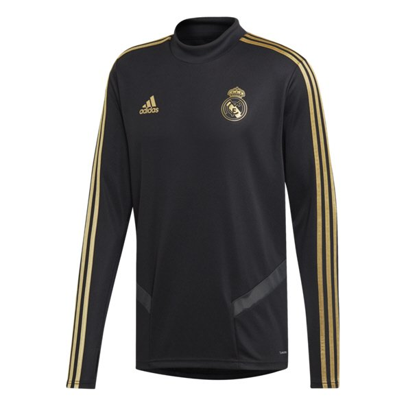 adidas Real Madrid 2019/20 Training Top, Black