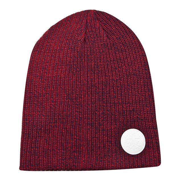 Convers Winter Twisted Slouch Beanie Red