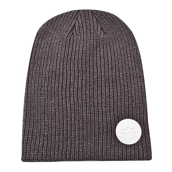Convers Winter Twist Slouch Beanie Charc