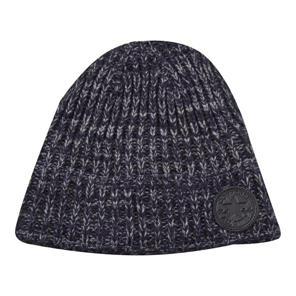 Convers Sherpa Lined Knit Beanie Navy