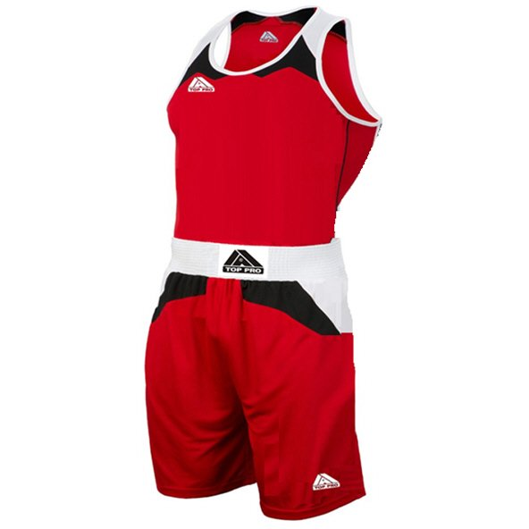 Top Pro Amateur Boxing Set, Red