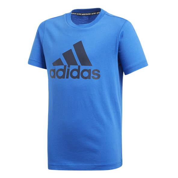 adidas MH BOS Boys' T-Shirt, Blue