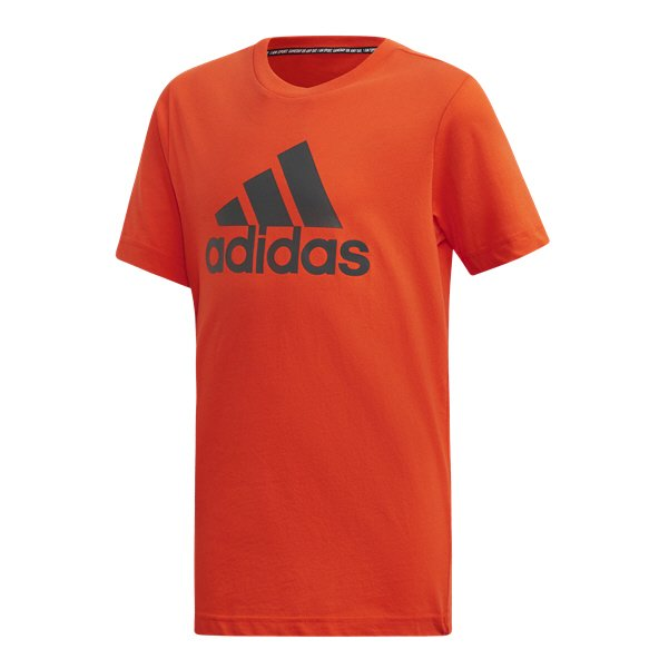 adidas MH BOS Boys' T-Shirt, Orange