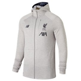 NB Liverpool FC 2019/20 Travel Hoody, Grey