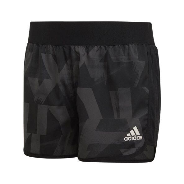 adidas Marathon Girls' Training Short, Grey