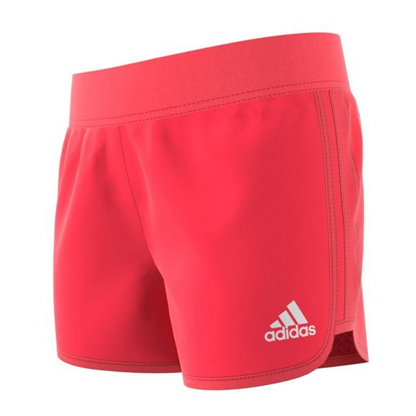 adidas Marathon Girls' Training Short, Red