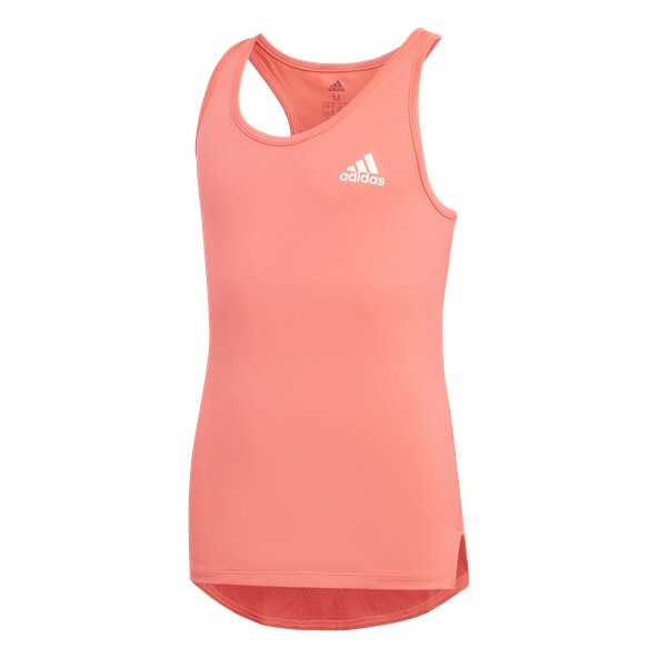 adidas Summer Girls' Training Tank, Pink