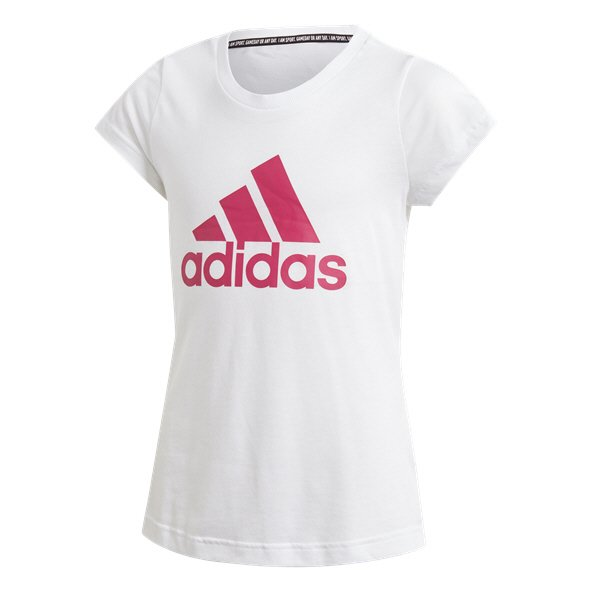 adidas Must Have BOS Girls' T-Shirt, White