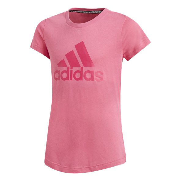 adidas Must Have BOS Girls' T-Shirt, Pink
