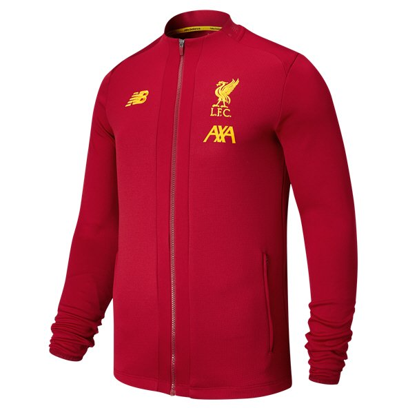NB Liverpool FC 2019/20 Kids' Game Jacket, Red