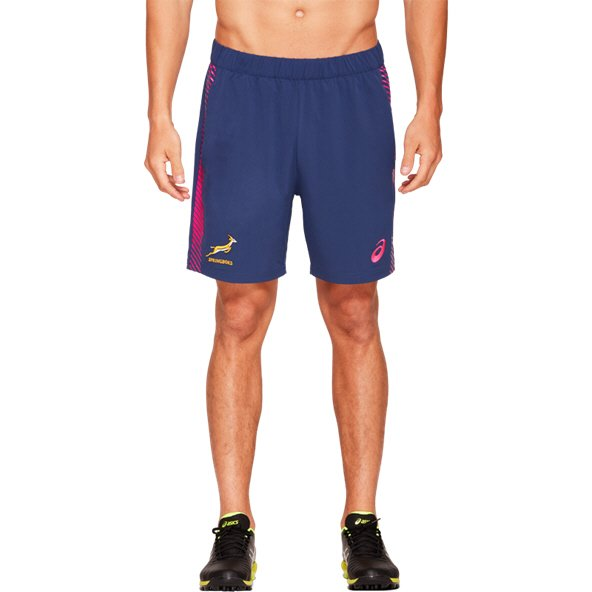 Asics Springboks 2019 Gym Short, Navy