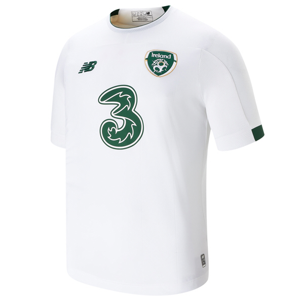 NB Ireland FAI 2019 Away Jersey, White