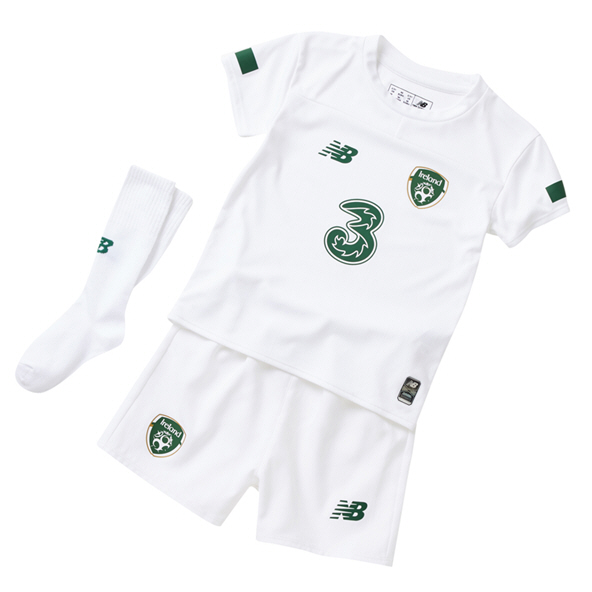 NB Ireland FAI 2019 Infant Away Kit, White