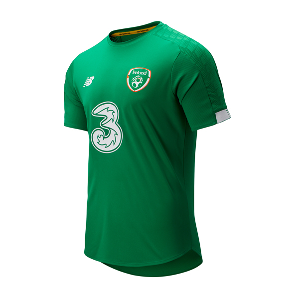 NB FAI 2019 Kids' On-Pitch Jersey, Green