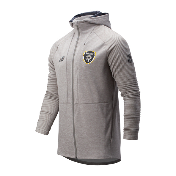 NB FAI 2019 FZ Travel Hoody, Grey
